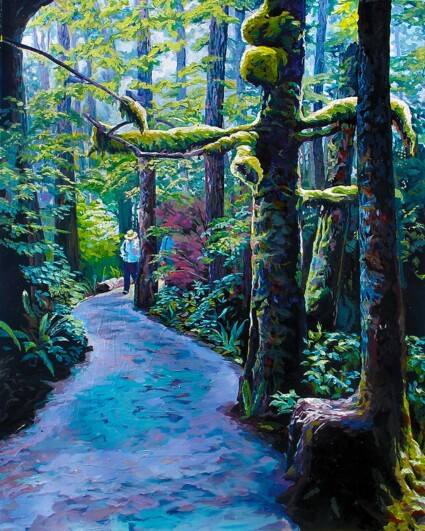 Moss Tree Wild Pacific Trail