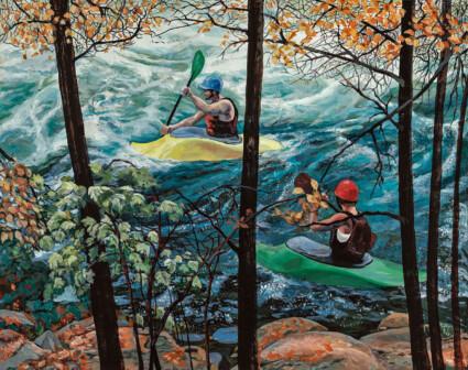 The Beginners Pond: Minden White Water Ontario