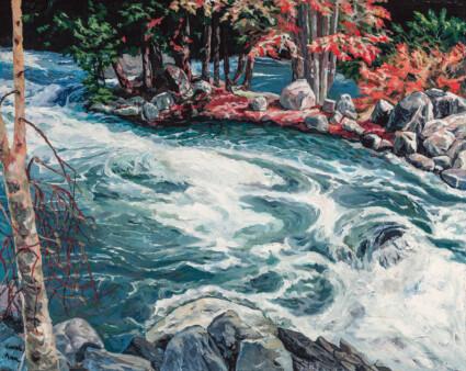 The Buffin Rock: Minden White Water Ontario