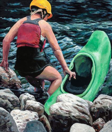 Entering the Water: Minden White Water Ontario