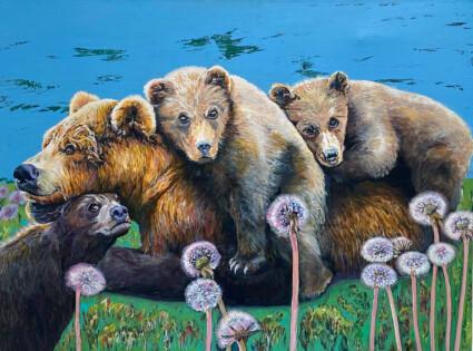 Bear Cubs Let me live Great Bear Rainforest