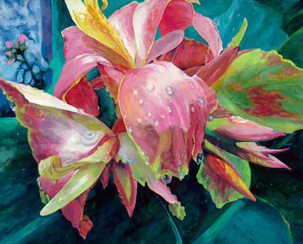 Lily in The Rain: My Garden
