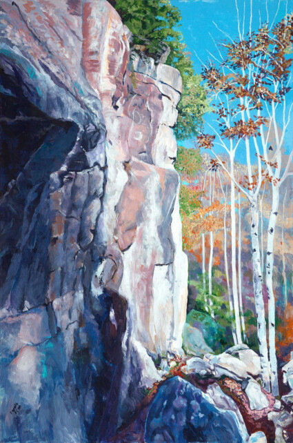Summit Protrusion, Right View: Haliburton Forest Ontario