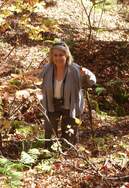 Carole Finn Artist in the Haliburton Forest
