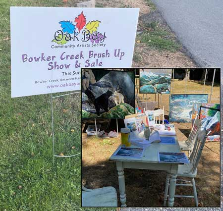 Bowker Creek Brush-Up Art Show and Sale